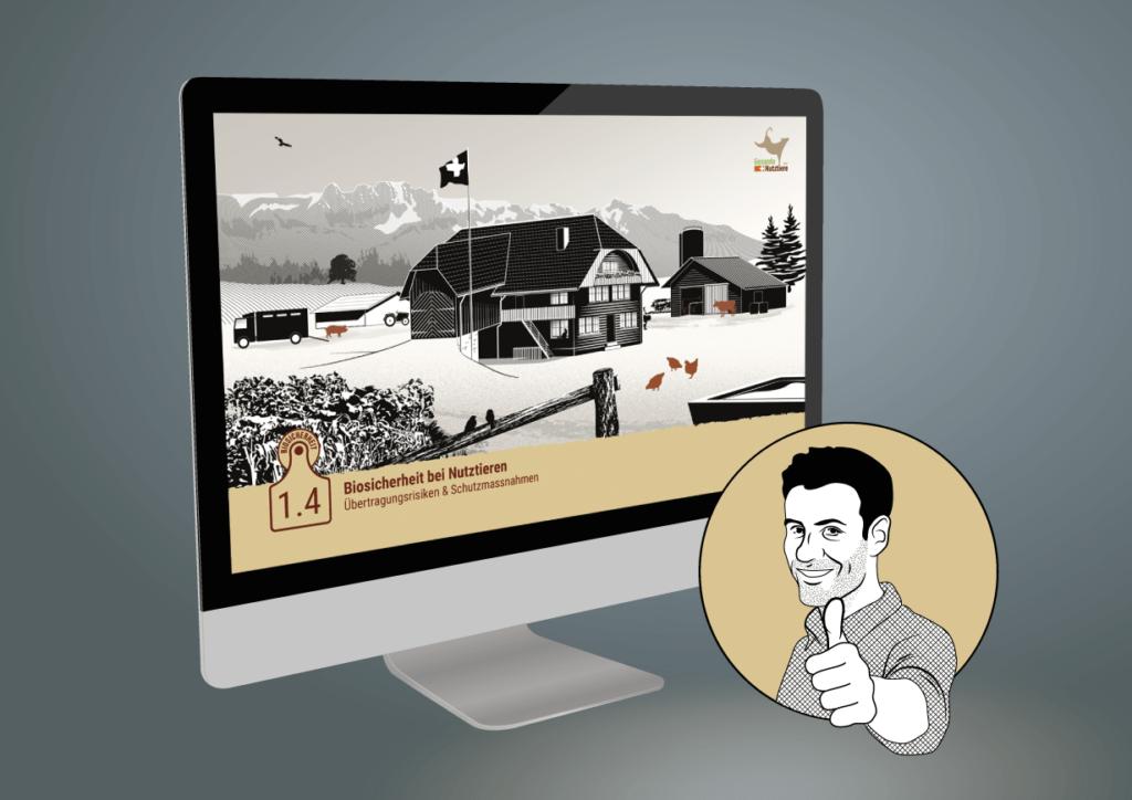 E-Learning Instructional Design Promotion Mock-up